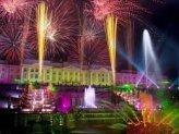 Праздник закрытия фонтанов в Петергофе